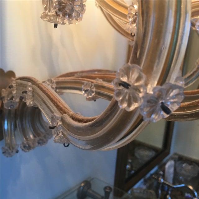 Crystal Vintage 11 Light Large Crystal Sconce For Sale - Image 7 of 7