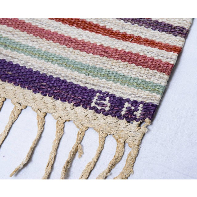 Vintage Barbro Nilsson Flat-Weave Swedish Carpet for Marta Maas-Fjetterström For Sale - Image 10 of 10