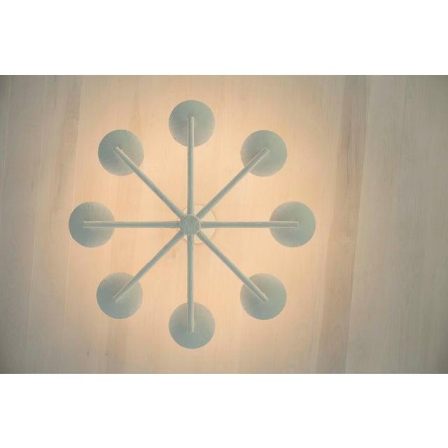 Apsara Plaster Spoke Chandelier By Apsara Interiors For Sale - Image 4 of 6