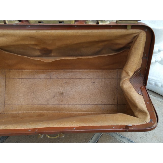 Victorian Leather Gladstone Bag - Image 7 of 7