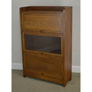 Stickley Mission Collection Oak Barrister Bookcase Preview