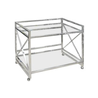 X Chrome Bar Cart