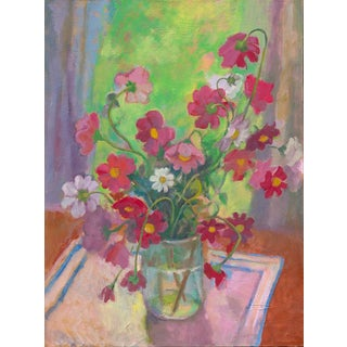 "Amy Griffith Colley ""Mixed Cosmos in the Window"" Print For Sale"