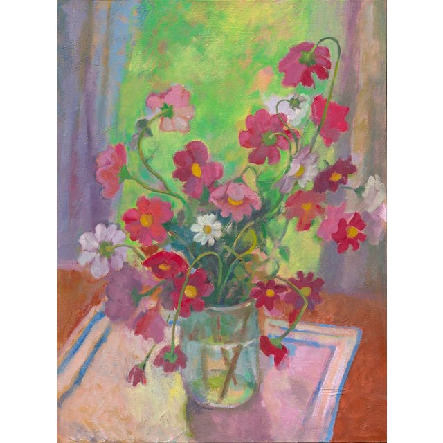 """Amy Griffith Colley """"Mixed Cosmos in the Window"""" Print For Sale"""