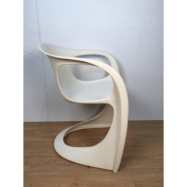 Off White Steen Ostergaard Chairs - Set of 6 For Sale - Image 5 of 8