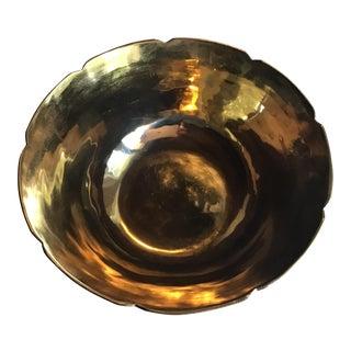 Vintage Offering Vessel Bowl For Sale