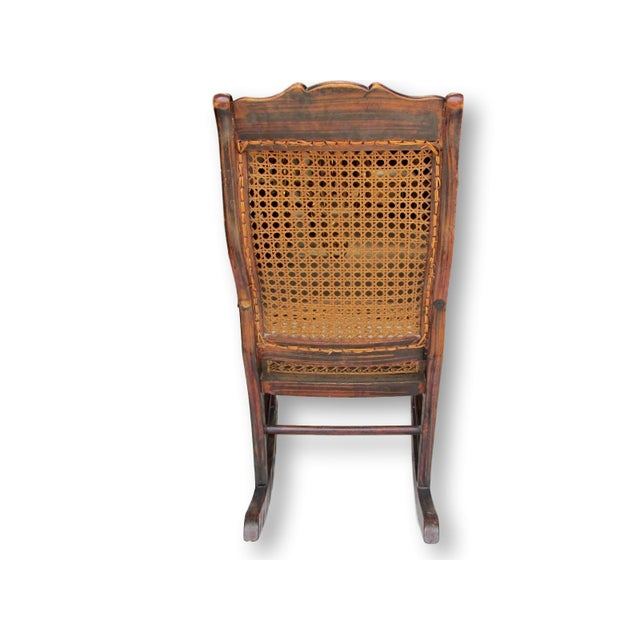 Antique Child's Rocking Chair - Image 4 of 8
