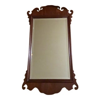 The Bartley Collection, Ltd. Antique Scroll Detail Mirror For Sale