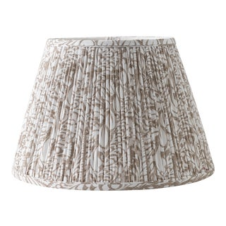 """Fern in Fawn 18"""" Lamp Shade, Taupe For Sale"""