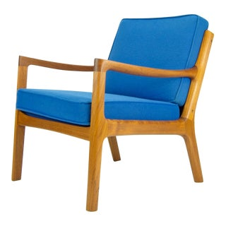 Ole Wanscher for France & Son 'Senator' Armchair For Sale