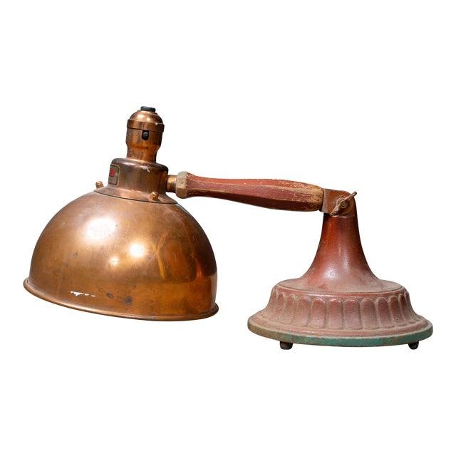 Antique 1920s Infralite Desk Lamp For Sale