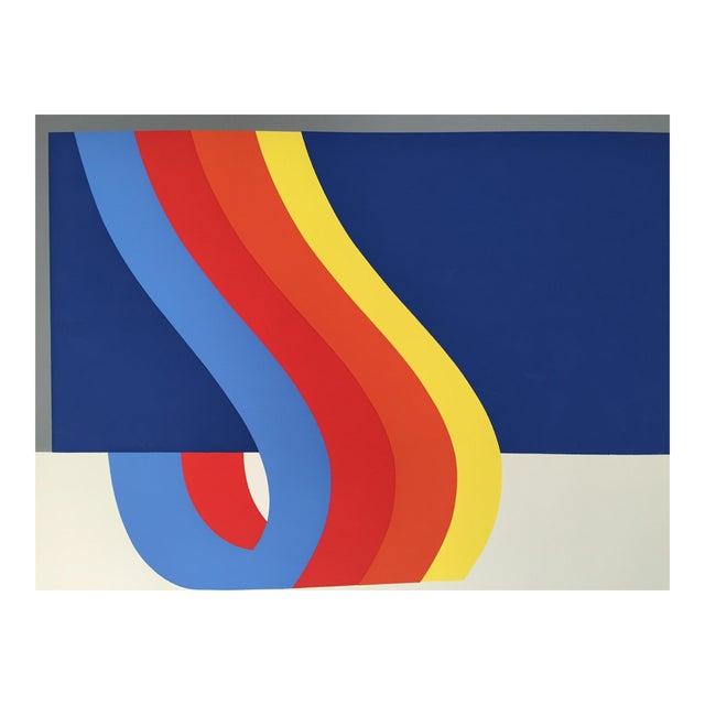 Nadine Pardo 1972 Abstract Silkscreen For Sale
