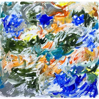 'Tidings' Original Abstract Painting by Linnea Heide For Sale