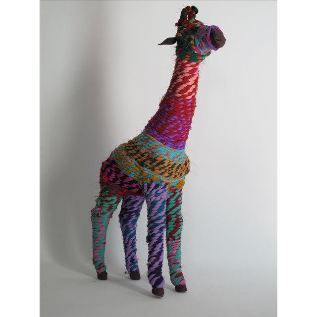 Boho Indian Chindi Giraffe - Image 5 of 7