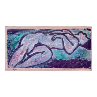 Wedo Georgetti, Reclining Nude 1983 For Sale