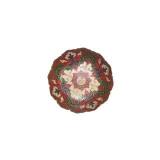Vintage Brass Cloisonne Bowl For Sale