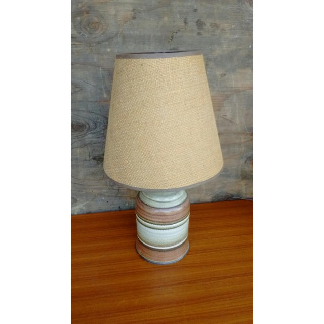 Mid-Century Ceramic Table Lamps - A Pair - Image 4 of 4