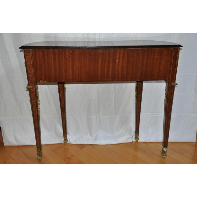 Antique Louis XVI Style Console After Design by Jean-Henri Riesener For Sale - Image 12 of 13