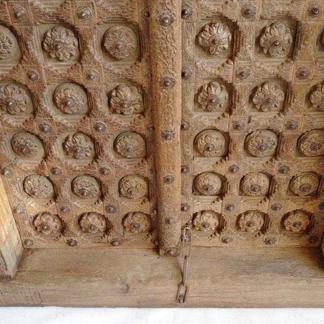 Antique Raja Indian Door For Sale - Image 4 of 7