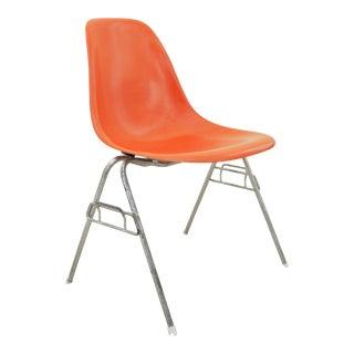 Orange Herman Miller for Eames Shell Chair