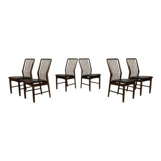 Svend Madsen Moreddi Floating Dining Chairs - Set of 6 For Sale