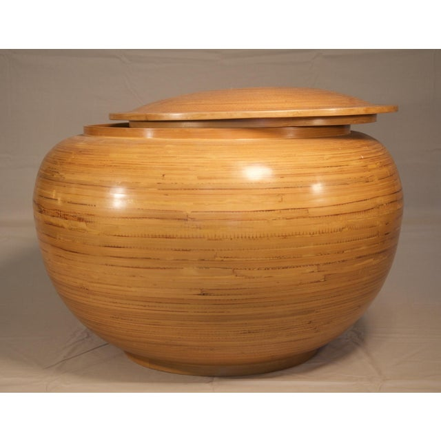 Spun Bamboo Container - Image 4 of 5
