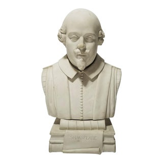 Ceramic Shakespeare Bust
