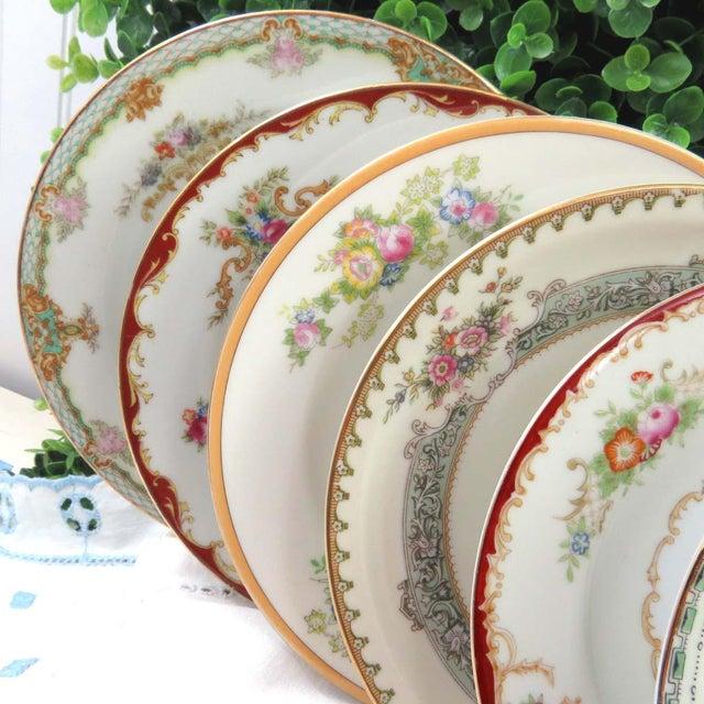 Mismatched Vintage Dessert Plates - Set of 8 - Image 3 of 11