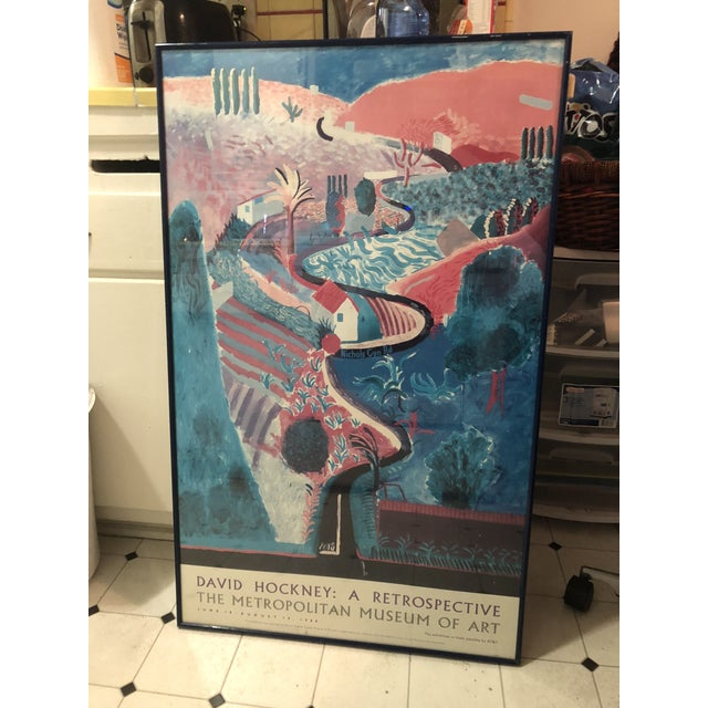David Hockney: A Retrospective Met Exhibit Poster For Sale In Los Angeles - Image 6 of 6