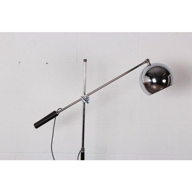 1960s Articulating Floor Lamp by Arteluce For Sale - Image 5 of 10