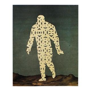 "1972 Rene Magritte, ""The Comic Spirit"" Original Photogravure For Sale"