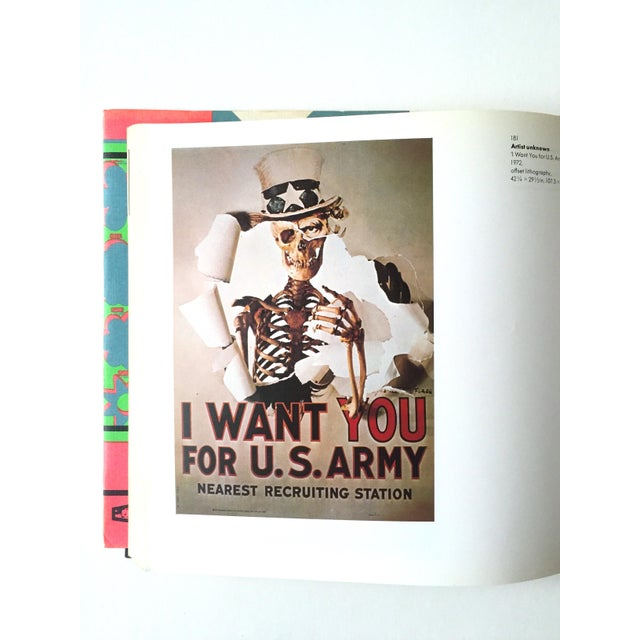 "Cardboard 1st Edition 1975 "" Images of an Era : The American Poster 1945 - 75 "" Rare Collector's Art Book For Sale - Image 7 of 11"