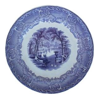 'Venus' Pearl Stoneware Plate For Sale