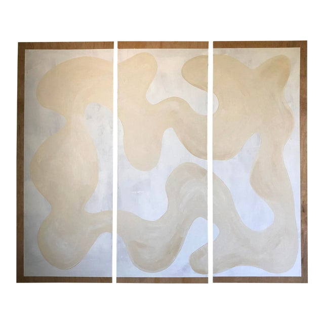 Winter Whites Triptych For Sale