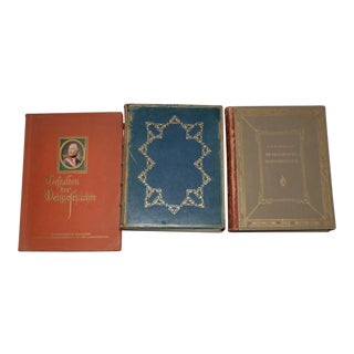1920s Lot of Three Rare Books on Portrait Miniatures - Set of 3 For Sale