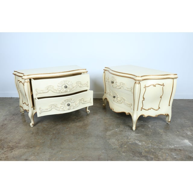 French Chest of Drawers - Pair - Image 8 of 11