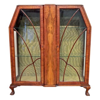 Art Deco Display Cabinet or Vitrine For Sale