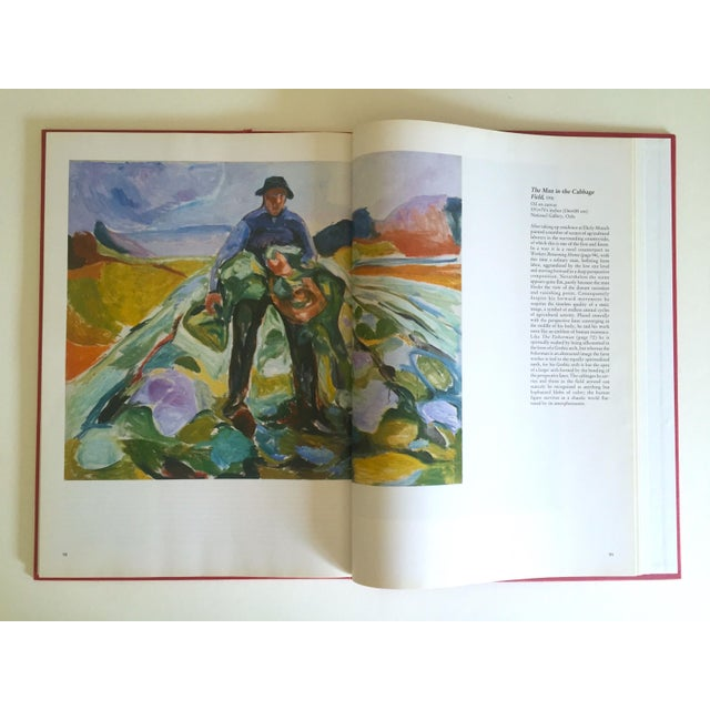 """This """" Munch """" rare first edition vintage 1990 Expressionist hardcover art book is a very special and unique book to add..."""