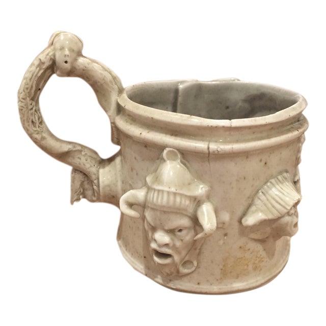 Vintage Hand Sculpted Unusual Porcelain Teacup - Image 1 of 6
