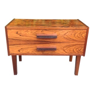 Mid Century Modern Danish Rosewood Chest For Sale