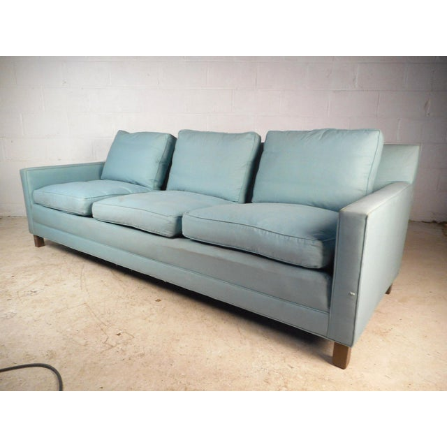 Mid-Century Modern Sofa by Dunbar For Sale - Image 10 of 10