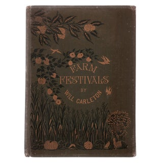"1881 ""Farm Festivals"" Collectible Book For Sale"