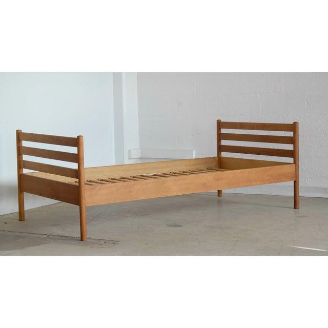 Danish Modern Hans Wegner for Ry Mobler Mid-Century Oak Guest Bed For Sale - Image 3 of 9