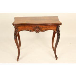 1900s Louis XV Rosewood Games Table Preview