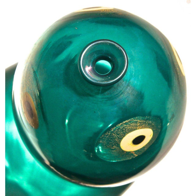 Italian Murano Vase by Guilio Radi for A.v.e.m. Glassworks, Italy 1948 For Sale - Image 3 of 6