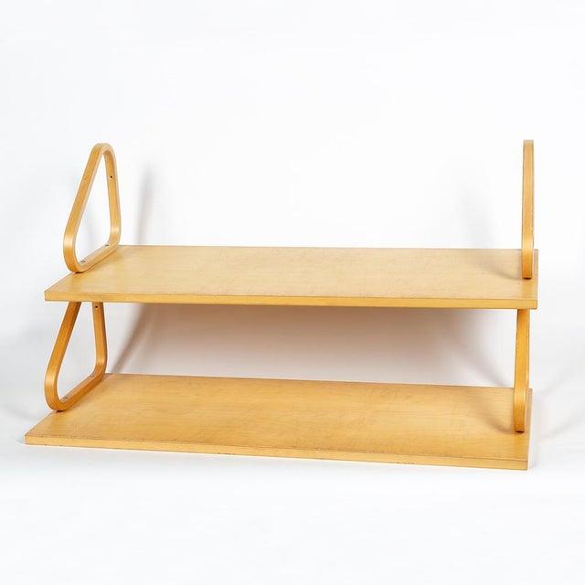 Artek 1970s Alvar Aalto Shelves - a Pair For Sale - Image 4 of 10