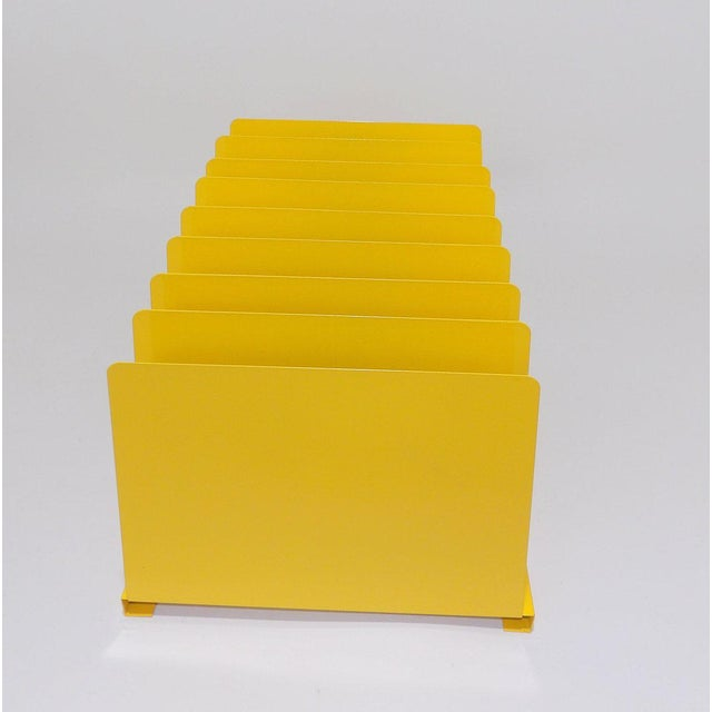 Yellow Metal Office File/Organizer For Sale In Sacramento - Image 6 of 7