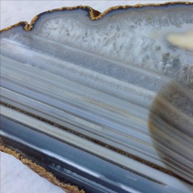Striped Agate Quartz Dish - Image 9 of 11
