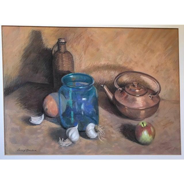 Impressionism Original Signed Still Life For Sale - Image 3 of 5