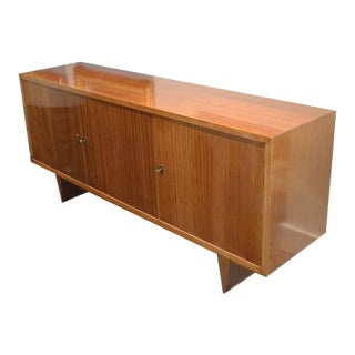 Mid-Century Mahogany Sideboard From France, C.1960 For Sale